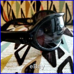 SOLFLEX Vtg 60's BILL ROLLING STONES Mega Bubble Wrap Bug-Eye Sunglasses
