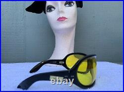 SOLFLEX Vtg 60s BILL Wyman ROLLING STONES Mega Bubble Wrap Bug-Eye Sunglasses 2