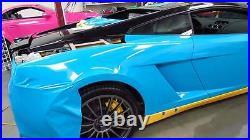 Skymex LIGHT BLUE Gloss Vinyl Wrap Sheet Car Wrap Vinyl Wrapping Air Bubble Free