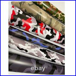 Urban Camouflage Camo Vinyl Wrap Car Sticker Film Decal Air Bubble Free wrapping