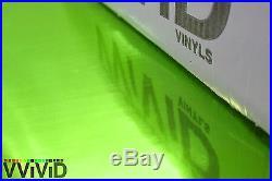 VViViD Green supercast chrome car vinyl wrap bubble-free sheet roll 10ft x 5ft