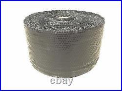 ZV 3/16 x 12 x 2100' 2100FT Small Black Bubble Padding Cushioning Wrap Roll